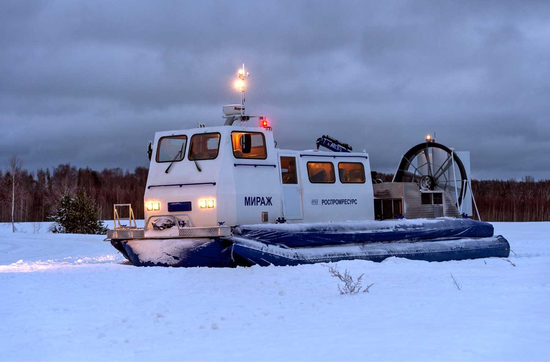 МИРАЖ-20 тяжелое транспортное грузовое судно на воздушной подушке