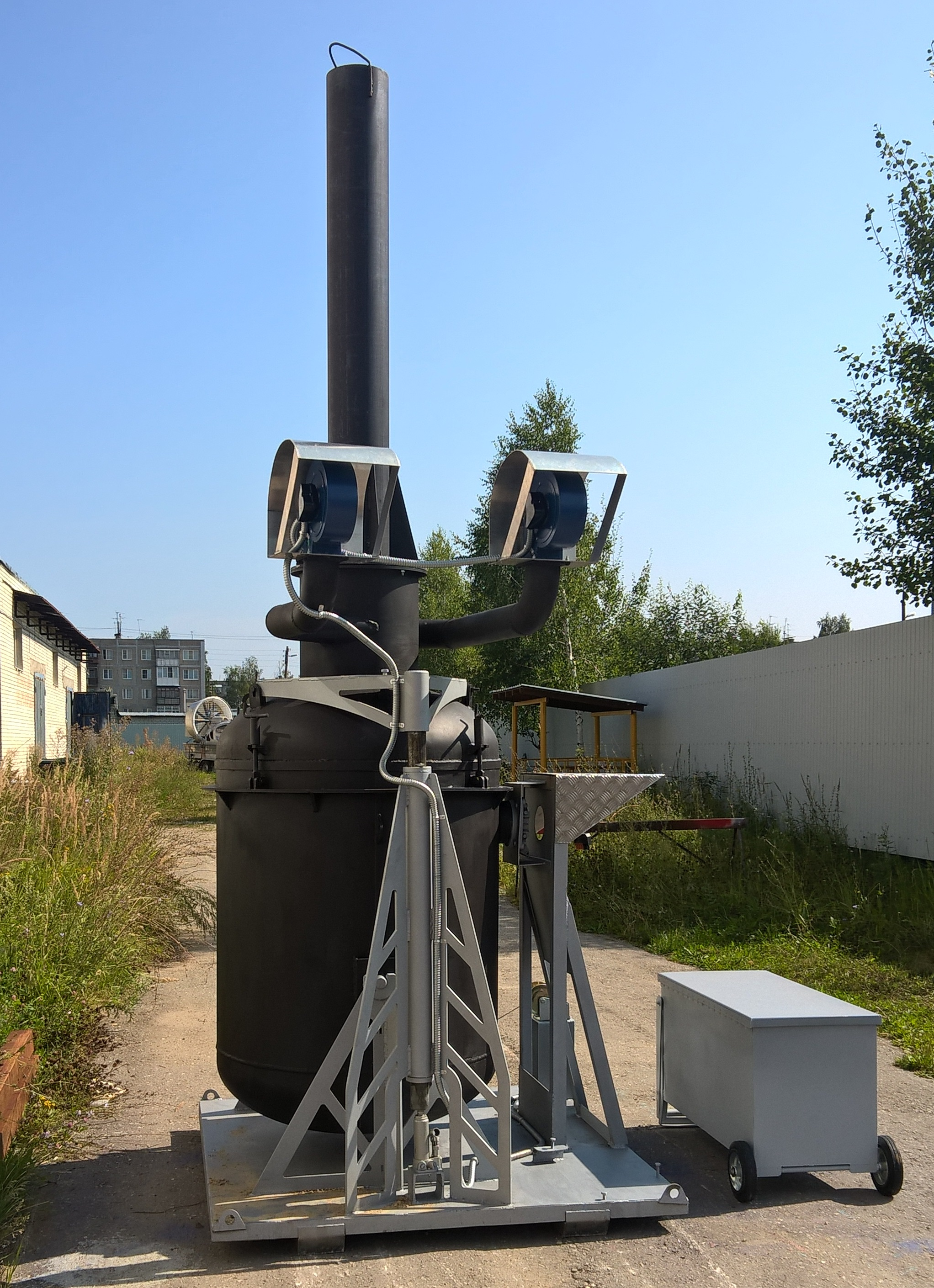 Установка для утилизации отходов «Армагеддон-2»