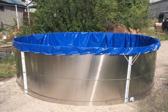 Разборный резервуар для сбора и временного хранения нефти и нефтепродуктов