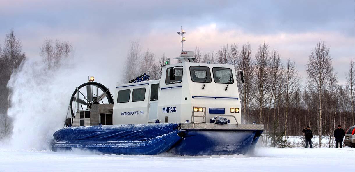 Мираж-20 судно на воздушной подушке