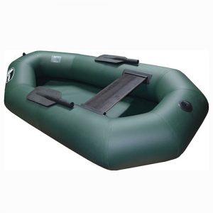 Лодка надувная одноместная альфа левый борт