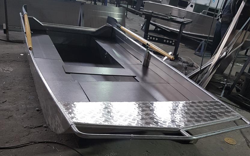 Алюминиевые лодки российского производства